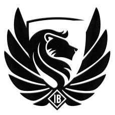 Logo black embossed