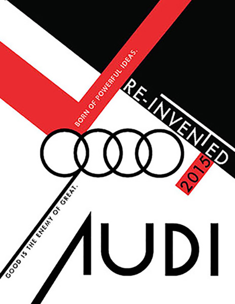 Adobe Illustrator/ Audi Promotion