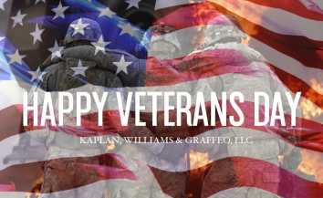 Adobe Photoshop / Veterans Day Post for Kaplan, Williams and Graffeo